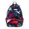 Plecak 4-komorowy BP7 Czerwone klocki 3D