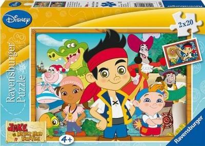 Puzzle 2x20 Pirat Jake szuka skarbów (090334) RAP090334