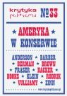 Krytyka Polityczna 33 Ameryka w konserwie