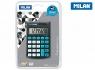 Kalkulator kieszonkowy Milan - Czarny (150908KBL)