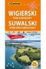 Wigierski Park Narodowy, Suwalski Park Krajobrazowy. Mapa turystyczna w skali