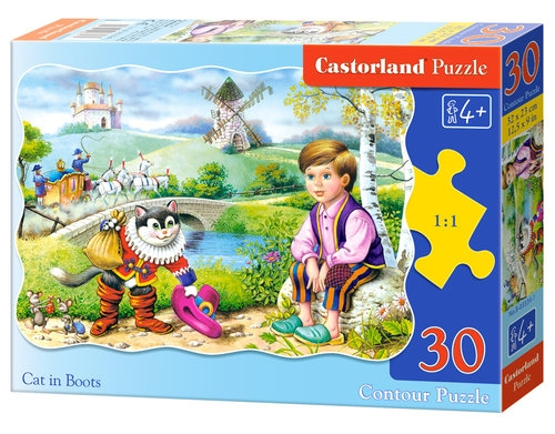 Puzzle 30 Cat in Boots (03334)