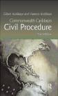 Commonwealth Caribbean Civil Procedure Vanessa Kodilinye, Gilbert Kodilinye