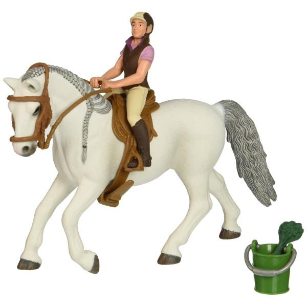 Jeździec pokazowy z klaczą (41433X)