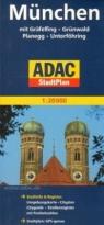 Munchen. ADAC  StadtPlan 1:20 000 praca zbiorowa