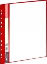 Skoroszyt ofertowy 20 koszulek czerwony GRAND