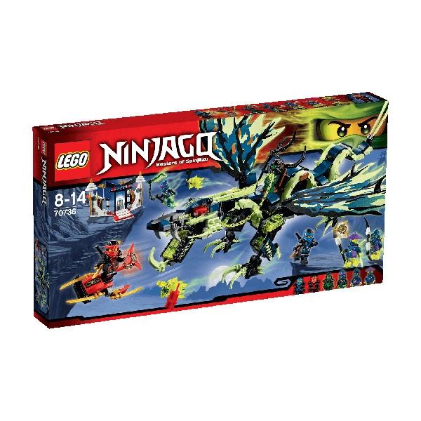 Lego Ninjago: Atak smoka Moro (70736)