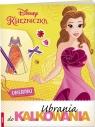 Disney Księżniczka. Ubrania do Kalkowania