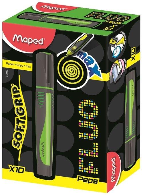 Zakreślacz Fluo Peps Max zielony 10 sztuk