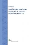 Zamówienia publiczne na usługi w zakresie badań naukowych
