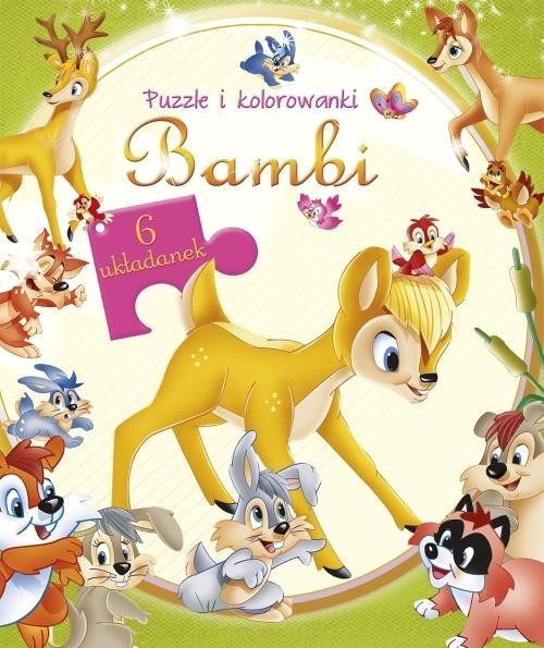 Bambi Puzzle i kolorowanki