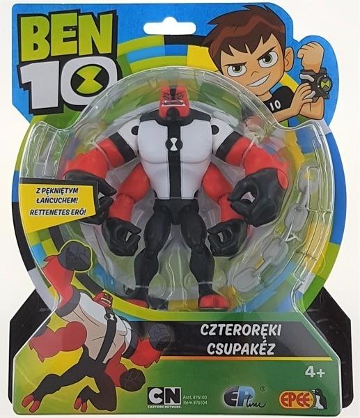 Ben 10 Figurka podstawowa 13 cm Czteroręki (PBT76100D)