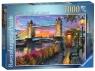 Ravensburger, Puzzle 1000: Zachód nad Tower Bridge (150335)