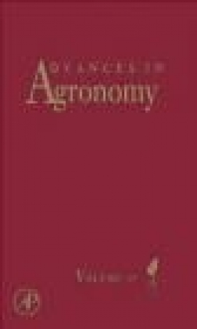 Advances in Agronomy: Vol. 107 Donald L. Sparks
