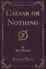 Caesar or Nothing (Classic Reprint) Baroja Pio