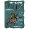 Notes kształtowy A6 Dinozaur