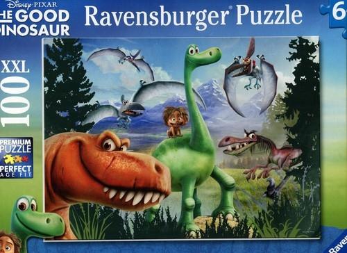 Puzzle XXL Dobry Dinozaur 100 (RAP105335)