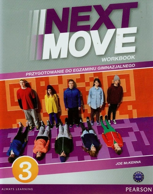 Next Move 3 Workbook z płytą CD McKenna Joe