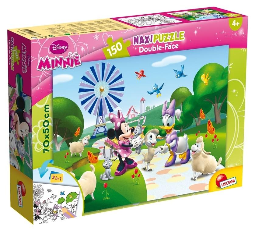 Puzzle dwustronne Maxi 150: Minnie (304-48335)