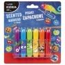 Pisaki zapachowe Kidea, 6 kolorów (PZ6KA)