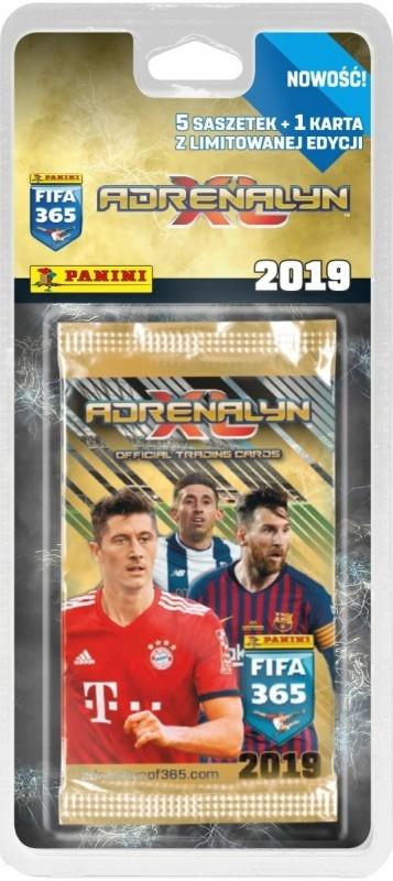 Karty FIFA 365 2019 Blister 5+1 saszetek (048-09433)