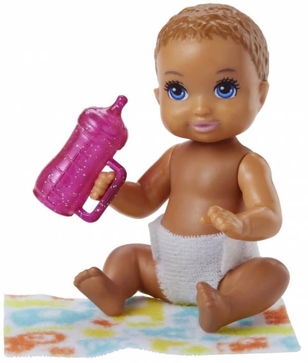 Barbie Skipper: Lalka niemowlak z akcesoriami (FHY76/FHY78)