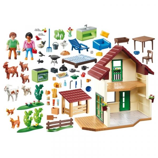 Playmobil Country: Wiejski dom (70133)