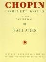 Chopin Complete Works III Ballady