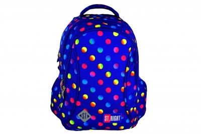 Plecak szkolny Stright neon dots BP-26