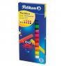 Plastelina Pelikan, 12 kolorów - fluorescencyjna (602334)