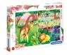 Puzzle SuperColor 3x48: Jungle Friends (25233)