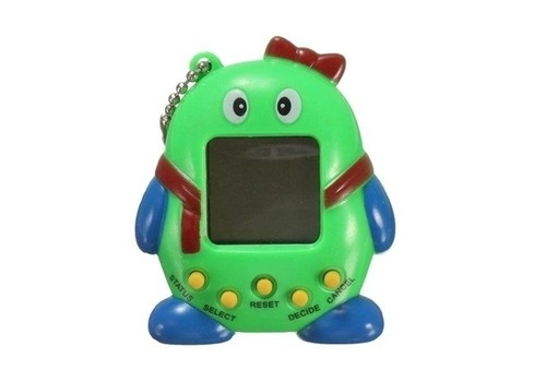 Elektroniczne zwierzątko - kolor zielony
