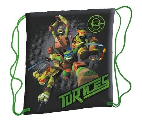 Worek szkolny na ramię Wojownicze Żółwie Ninja
