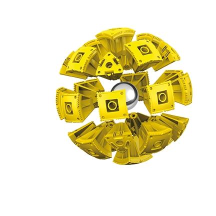 Geomag KOR - Proteon Vulkram - 103 elementy (KOR-633)
