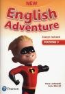 New English Adventure 3 Zeszyt ćwiczeń +DVD