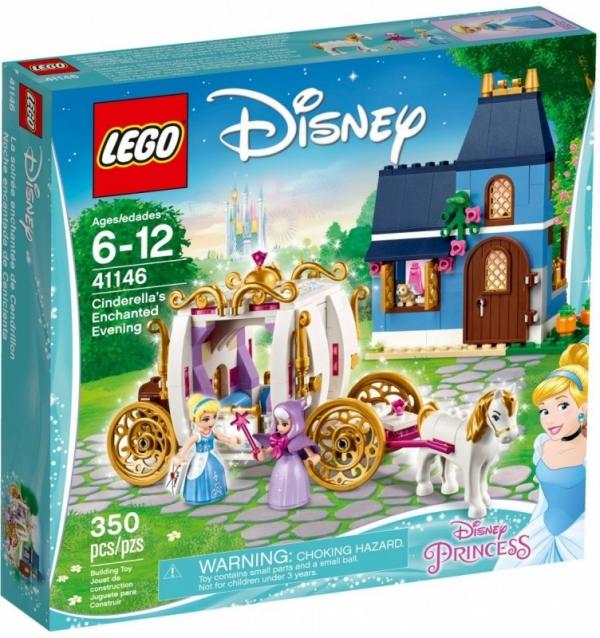 Lego Disney Princess: Czarodziejski wieczór Kopciuszka (41146)
