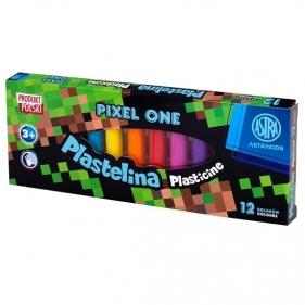 Plastelina Astra Pixel One, 12 kolorów (453879)