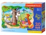 Puzzle Maxi Konturowe:Little Red Riding Hood 20 elementów