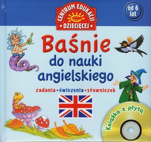 Baśnie do nauki angielskiego Książka z płytą CD