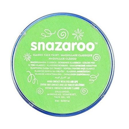 Farba do twarzy i ciała Snazaroo 18ml - limonka (1118433)