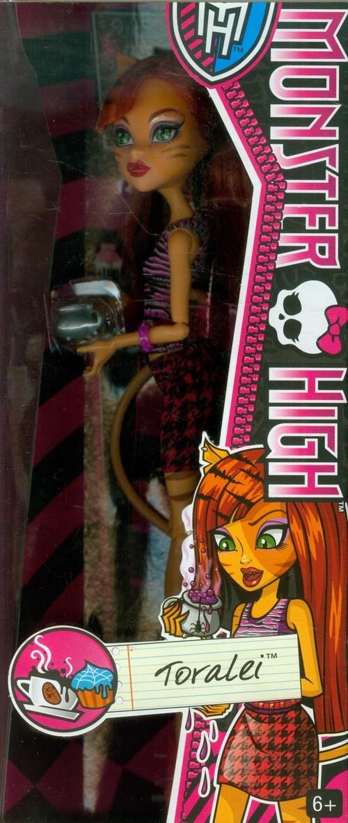 Monster High Lalka Kawiarniana Toralei