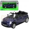 WELLY Mini Cooper S Cabrio, niebieski (WE22461)