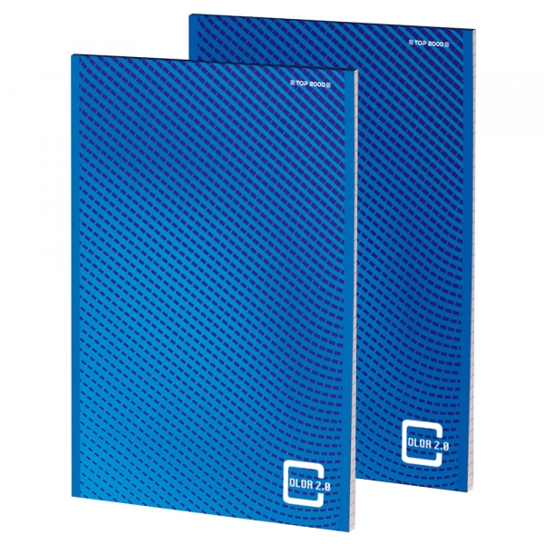 Blok biurowy TOP-2000 Color 2.0 A4/100k kratka (400146154)