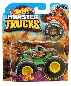 Hot Wheels Monster Truck: Pojazd 1:64 - Test Subject (FYJ44/GJF38)