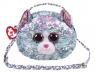 Ty Fashion - cekinowa torba na ramię - Kot (95133)