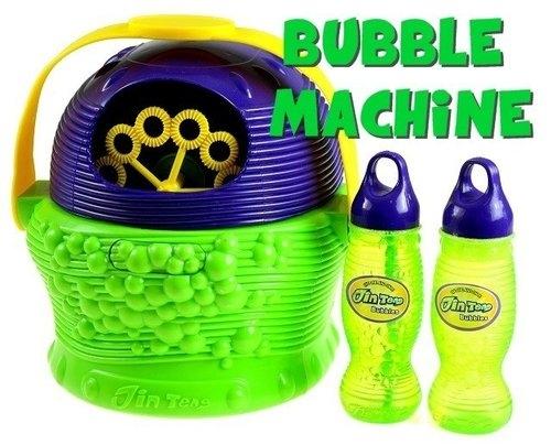 Maszyna do robienia baniek mydlanych + płyn bubble