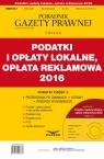 Podatki i opłaty lokalne, opłata reklamowa 2016