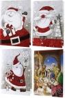 Kartka A5 grająca 3D Boże Narodzenie MIX AVANTI