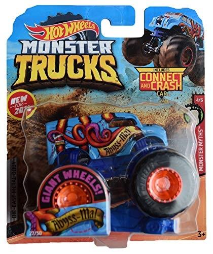Hot Wheels Monster Truck: Pojazd 1:64 - Abyss-Mal (FYJ44/GJF18)