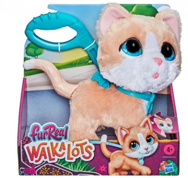 Maskotka interaktywna Fur Real Duży Kot na smyczy (E3504/F1998)
